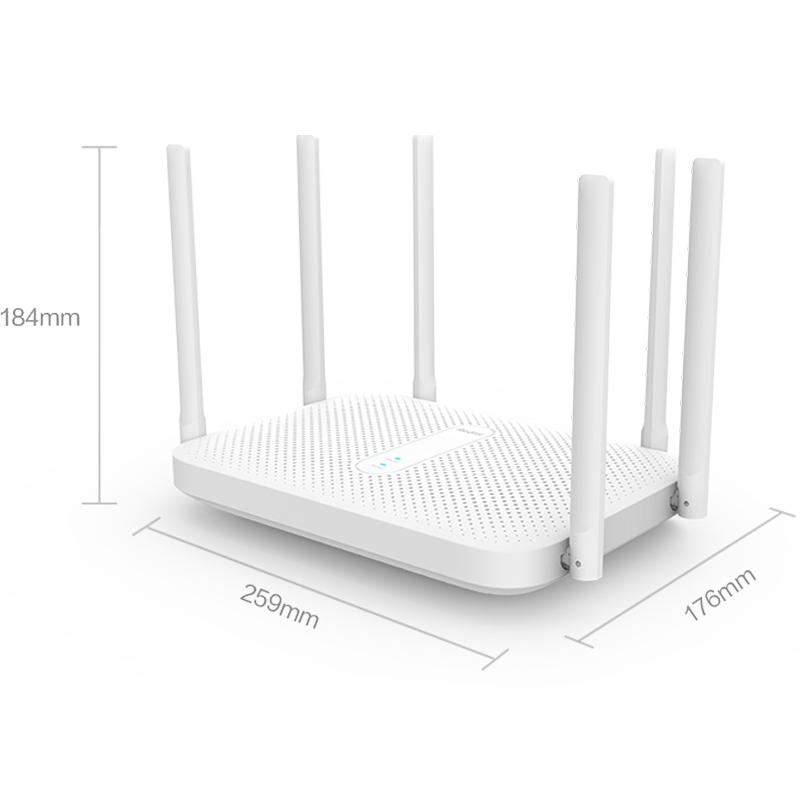 Xiaomi Redmi AC2100 Router Gigabit 2.4G 5.0GHz Dual-Band 2033Mbps Router Wifi Repeater With 6 High Gain Antennas Wider 2