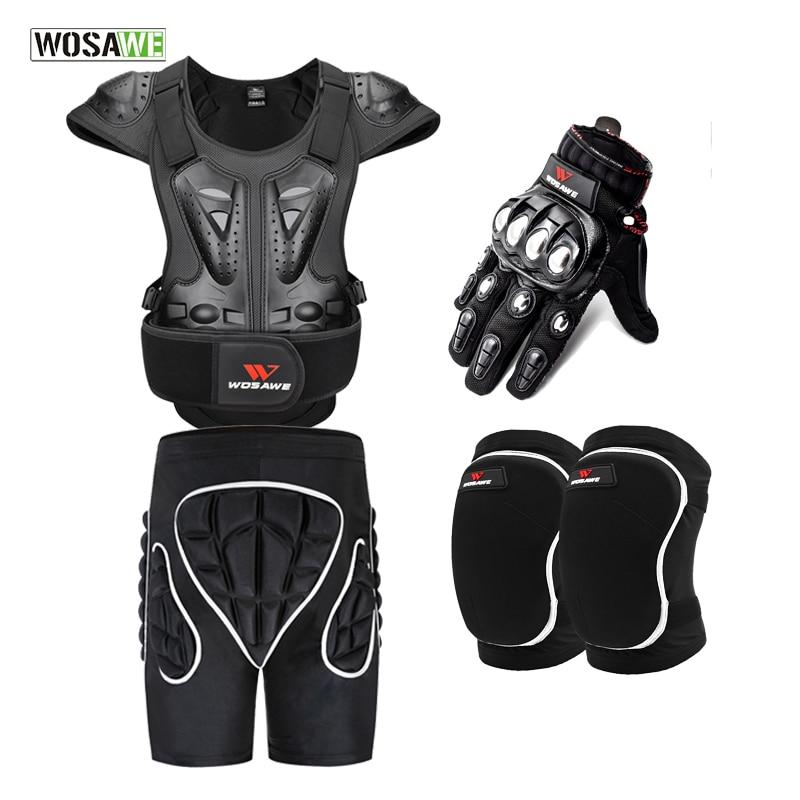 Куртка WOSAWE для катания на лыжах и сноуборде, водонепроницаемая ветрозащитная мотоциклетная Броня из ЭВА, защитное снаряжение для мотокросс...