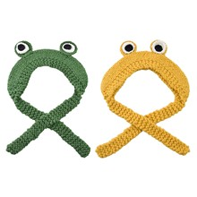 Hot Cute Frog Hat Beanies Knitted Winter Hat Solid Hip-hop Skullies Knitted Hat Costume Accessory Gifts Warm Winter Accepted