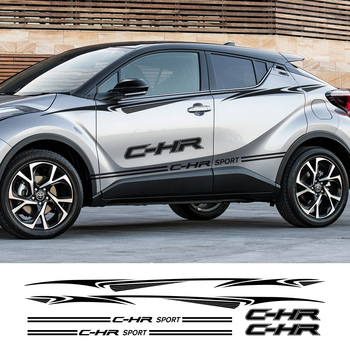 Car Door Side Waist Line Sticker Decal For Toyota C HR Captivating Vinyl Auto Body Decor Accessories Car Stickers And Decals