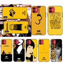 CUTEWANAN Spanish TV series locked Vis A Vis Silicone Phone Case for iPhone 11 pro XS MAX 8 7 6 6S Plus X 5S SE 2020 XR case трусы vis a vis vis a vis vi003ewsoq12
