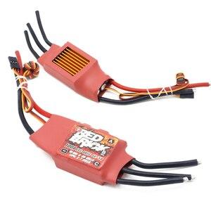 Image 5 - 1 pz Red Brick ESC 50A/70A/80A/100A/125A/200A Brushless ESC regolatore di velocità elettronico 5V/3A 5V/5A BEC per FPV Multicopter
