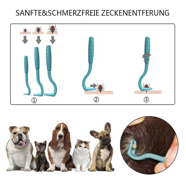 3PCS Pet Flea Remover Tool Set
