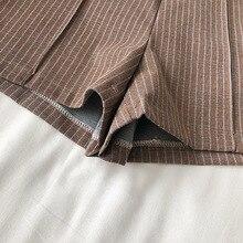 Korean High Waist Shorts Spring Striped Short Pants SF