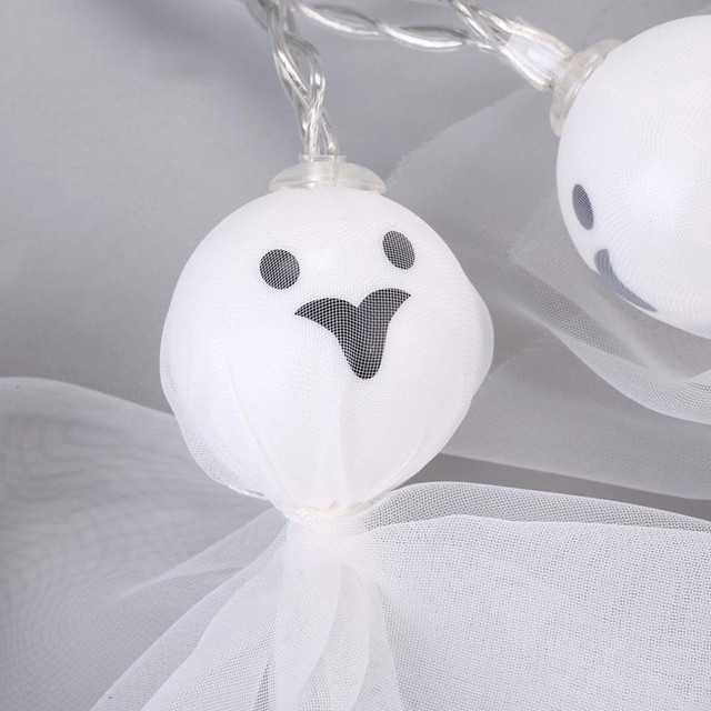 Фото 20 40 светодиодный светильник в форме куклы призрака для хэллоуина цена