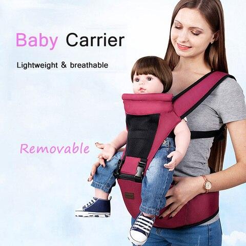 portador de bebe ergonomico infantil crianca hipseat do bebe estilingue frente enfrentando canguru envoltorio do