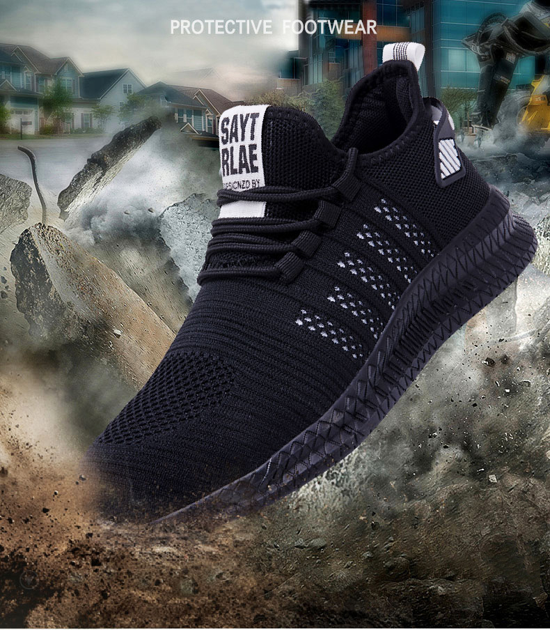 safety shoes man adidas