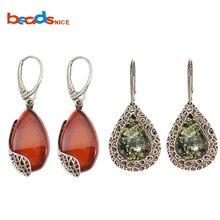 Beadsnice Drop Dangle Earring Sterling Silver Teardrop Fine Jewelry 39757