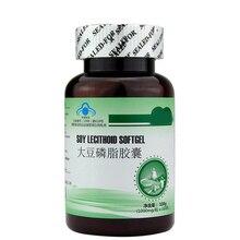 Лецитин 1000 мг с фосфатидил Холин соевых бобов лецитин софтгели способствует сердечно-сосудистой здоровья головного мозга