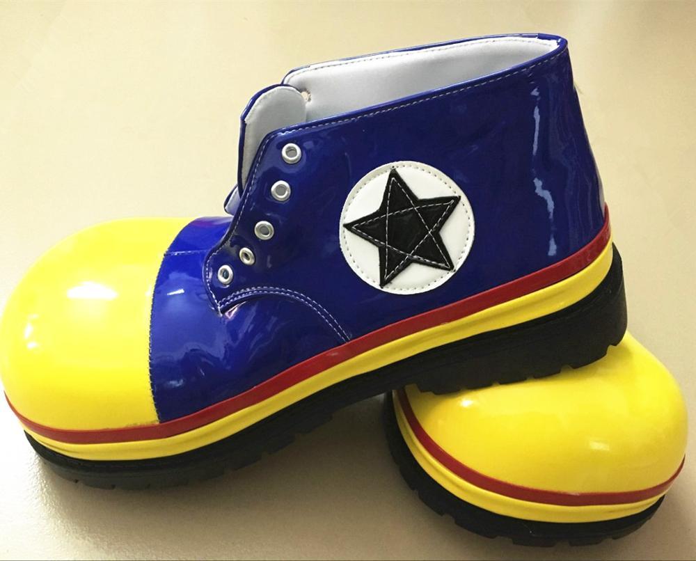 3 стиля ПУ милый клоун обувь Забавный круглый Детский рюкзачок голова обувь для взрослых Хэллоуин косплей обувь для карнавального костюма а... - 5