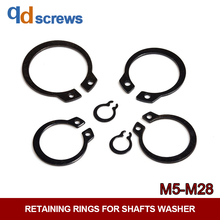 M5M6M7M8M9M10-M28 Shaft retaining Snap ring clip washer Retaining Rings For Shafts DIN471