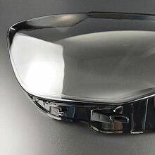 Przednie reflektory reflektory szklana maska pokrywa lampy przezroczysta powłoka maski lampy dla Audi A3 2013 2016 obiektyw
