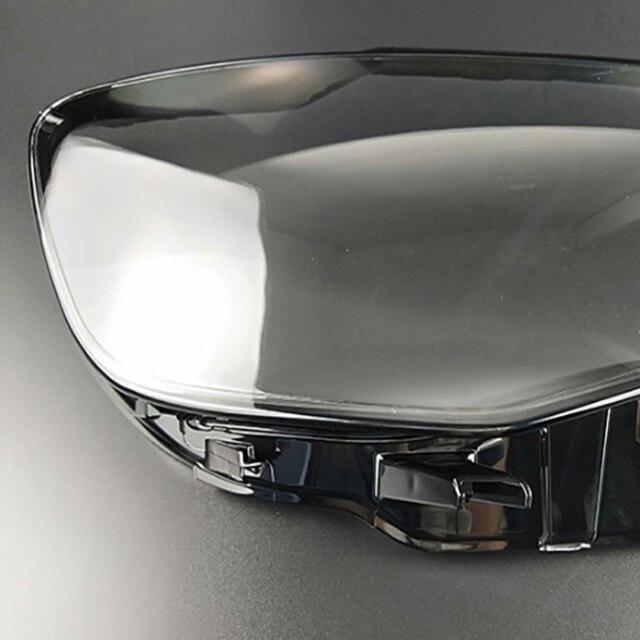 Ön farlar farlar cam maskesi lamba kapağı şeffaf kabuk lamba maskeleri Audi A3 2013 2016 lens