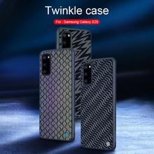 NILLKIN Twinkle Phone Case For Samsung Galaxy S20/S20 Plus/S20 Ultra Luxury Flexible TPU PC Back Shell Cover Case Fundas Coque