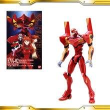 Bandai gundam hg 002 eva 02 gundam modelo crianças montado robô anime figura de ação brinquedos