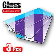 3 個保護三星銀河A7 A9 2018 A6 A8 J4 プラススクリーンプロテクター強化ガラスa50 A51 A40 J6 J4