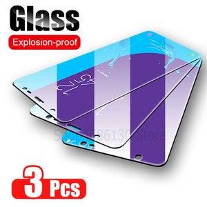 Image 1 - 3Pcs מגן זכוכית לסמסונג גלקסי A7 A9 2018 A6 A8 J4 בתוספת מסך מגן זכוכית מחוסמת עבור Samsung a50 A51 A40 J6 J4