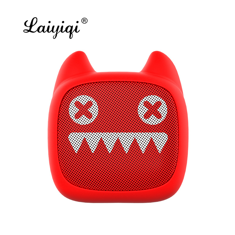 Laiyiqi cute fashion kitten Mini Zombies <font><b>Cat</b></font> lovely <font><b>bluetooth</b></font> <font><b>speaker</b></font> portable cartoon kid caixa de som portatil Christmas gift image