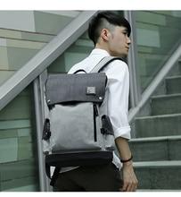 MOYYI 외부 USB 충전 백팩 노트북 컴퓨터 백팩 남성용 도난 방지 방수 가방