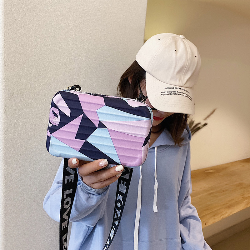 Women's Ribbon Bag 2020 New Style Casual Square Sling Bag Simple Shoulder Bag