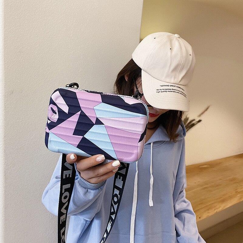 Women's Ribbon Bag 2020 New Style Casual Square Sling Bag Simple Shoulder Bag