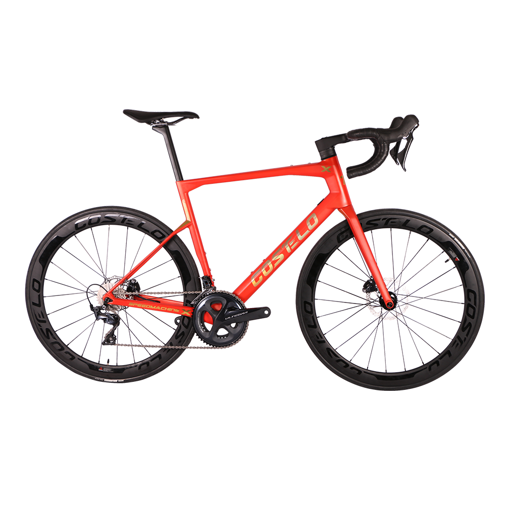 T1000 speedmachine X complete bike R8000 R8020 carbon road bike 50mm carbon wheels disc brake rim brake