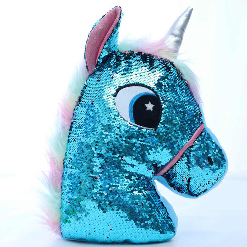 Creative And Negative Sequin Plush Toy Doll Unicorn Cactus Owl a Generation of Fat