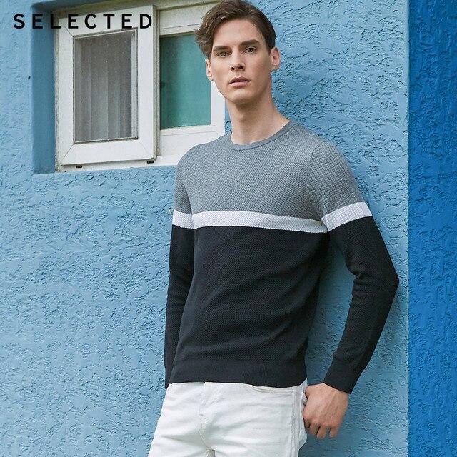 Отборные хлопковые пуловеры разных цветов с круглым вырезом и длинными рукавами, вязаный свитер S