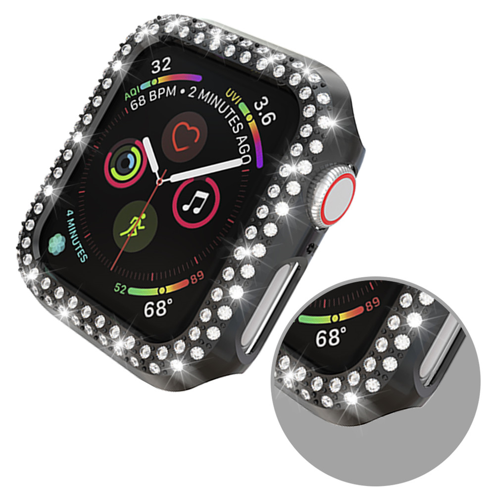 Double Rows Diamond Case for Apple Watch 26