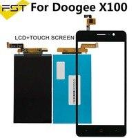 5.0 ''LCD Display + Touch Screen Digitizer Voor Doogee X100 Screen LCD Glas Touch Panel Voor X100 Mobiele Telefoon Vervanging + gereedschap