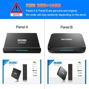 Image 3 - MECOOL KM9 פרו חכם טלוויזיה תיבת אנדרואיד 10 2GB 16GB Google מוסמך Androidtv אנדרואיד 9.0 טלוויזיה תיבת 4K KM3 טרקטורונים 4GB 128GB Media Player