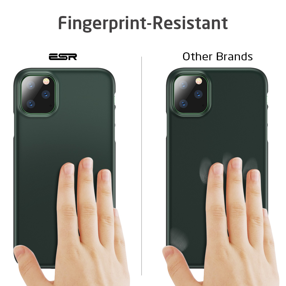 ESR Case for iPhone 11 Pro Max 2019 Simple Protect Case Green Black Grip Brand Shockproof ESR Case for iPhone 11 Pro Max 2019 Simple Protect Case Green Black Grip Brand Shockproof Protective Cover for iPhone11 iphon