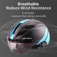 Cairbull 280g Сверхлегкий велосипедный шлем eps aero road mtb