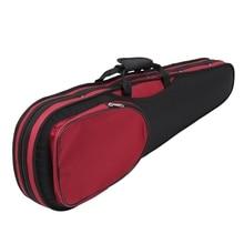 4/4 полноразмерный чехол для скрипки, сумка-рюкзак, устойчивая к давлению коробка с плечевыми ремнями и высокой плотностью, компрессионная рама из пеноматериала