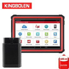 """LAUNCH X431 Pro3s+ 10.1 Inch EOBD/OBD2 Diagnostic Tool 1 Year Free Update DBScar 30+ Reset X 431 Pro3s Plus 10"""" Auto Scanner"""
