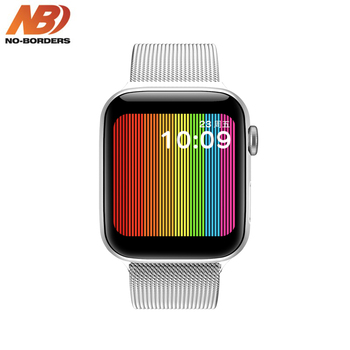 IWO W68 44mm Smart Watch Men Woman Heart Rate Monitor Call Message Reminder 1:1 Series 5 For Android iPhone PK IWO 8 12 Max компрессор garage pk 40 f210 1 5