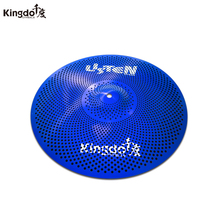 Kingdo 12splash cymbal  low volume cymbal slience sound for drums set arborea cymbal gravity 14hi hat cymbal for drums