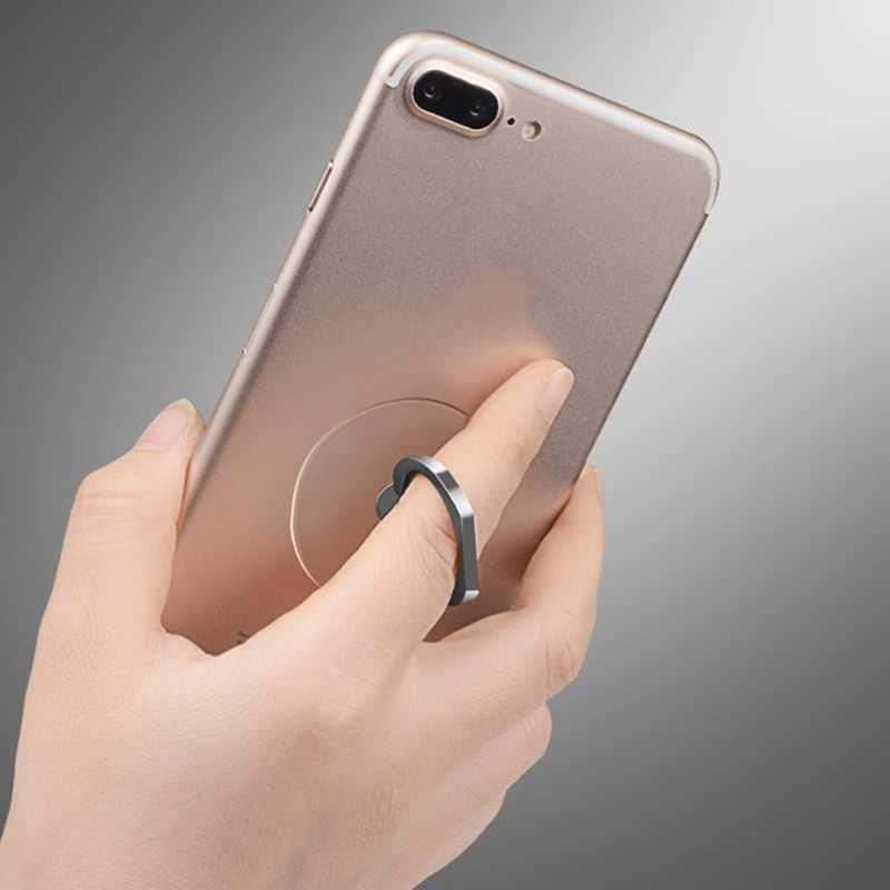 שקוף חמוד נייד טלפון אצבע טבעת מחזיק טבעות קריקטורה חתול לב טלפון מחזיק טבעת Stand עבור iphone XS מקסימום 8