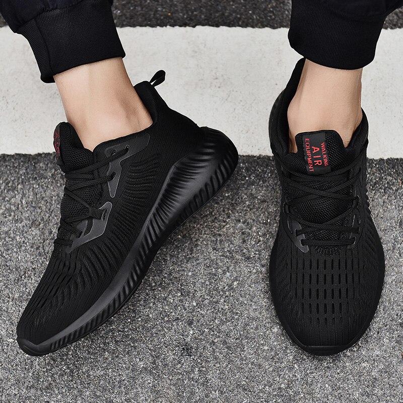 REETENE Summer Casual Men'S Sneakers Flying Weaving Mesh Men Shoes Breathable Outdoor Fashion Footwear Sneakers For Men 39-47