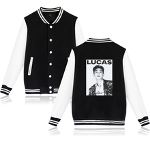 SuperM Long Sleeve Baseball Jacket (24 Models)