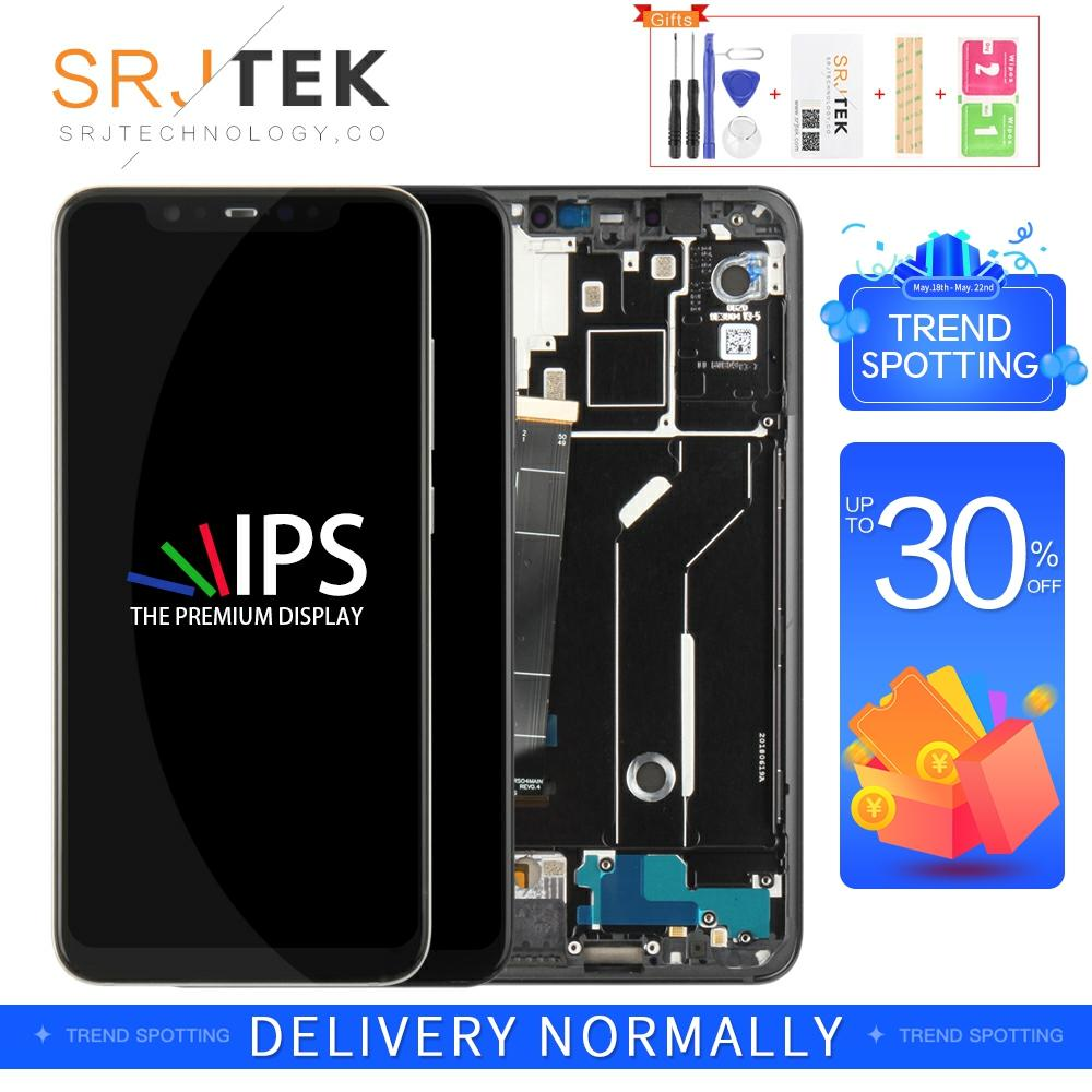 Original/OLED/IPS For XiaoMi Mi8 Display Matrix Touch For XiaoMi Mi8 Screen Digitizer Sensor For XiaoMi Mi 8 LCD Display Frame