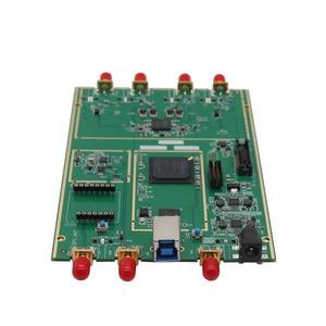 TZT 70 МГц-6 ГГц 10DBM программное обеспечение определяется радио B210 SDR доска акриловая оболочка USB3.0 совместима с USRP B210