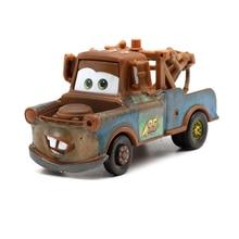 цена на New Disney Pixar Car 3 Car 2 McQueen Car 1:55 Die Cast Metal Alloy Model Toy Car Kids Toys Educational Toys For Children Boys