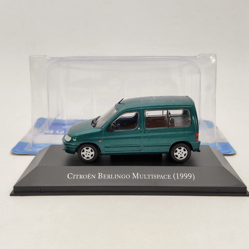 IXO 1:43 Citroen Berlingo Multispace 1999 Green Diecast Models Collection