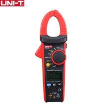 Medidores de abrazadera de unidad, multímetro NCV Digital profesional, Prueba de Temperatura, CA, CC, rango automático, amperímetro de 600A, abrazadera amperométrica UT216A