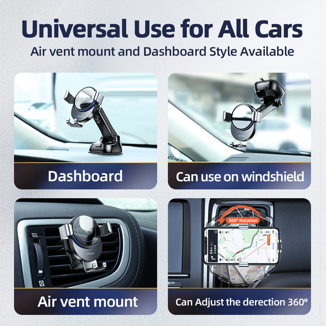 15W Qi Car Phone Holder Wireless Charger Car Mount Intelligent Infrared for Air Vent Mount car charger wireless For iPhone12 pro 4
