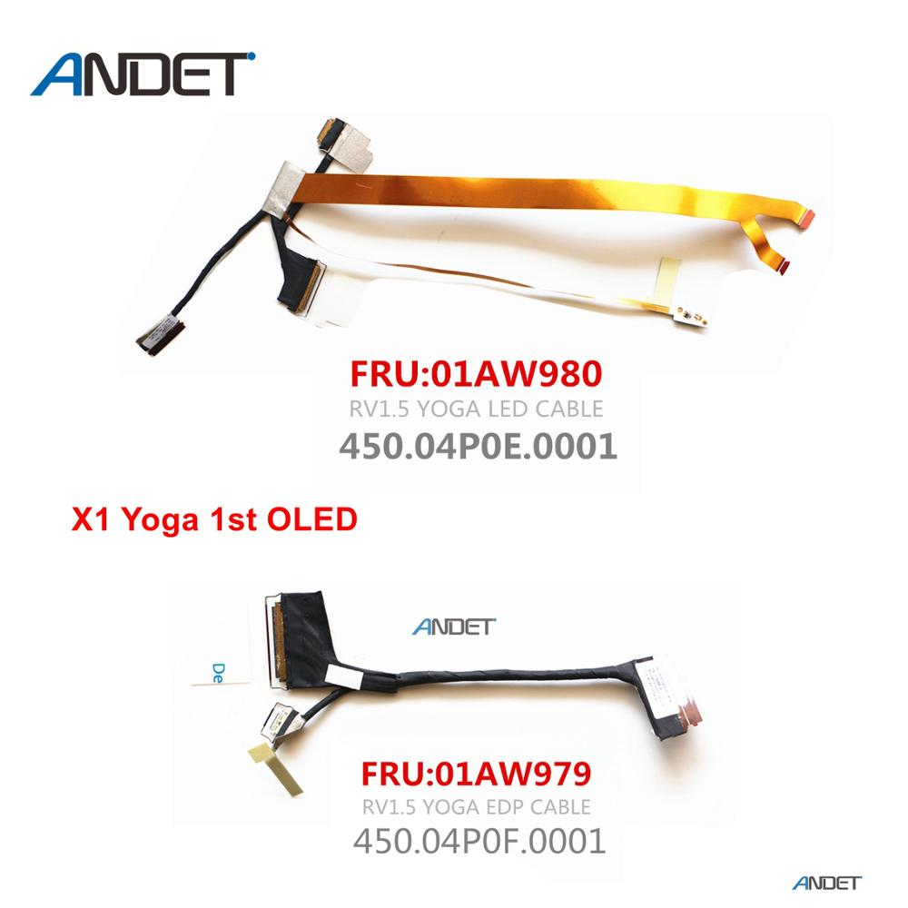 New 01AW979 for Lenovo ThinkPad X1 Yoga 20FQ-20FR 1st Gen OLED LCD Screen Cable