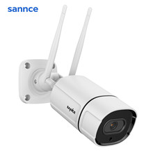 SANNCE Waterproof 3MP IP Camera HD WiFi Wireless Surveillance Bullet Camara Outdoor IR Cut Night Vision Home Security Camara