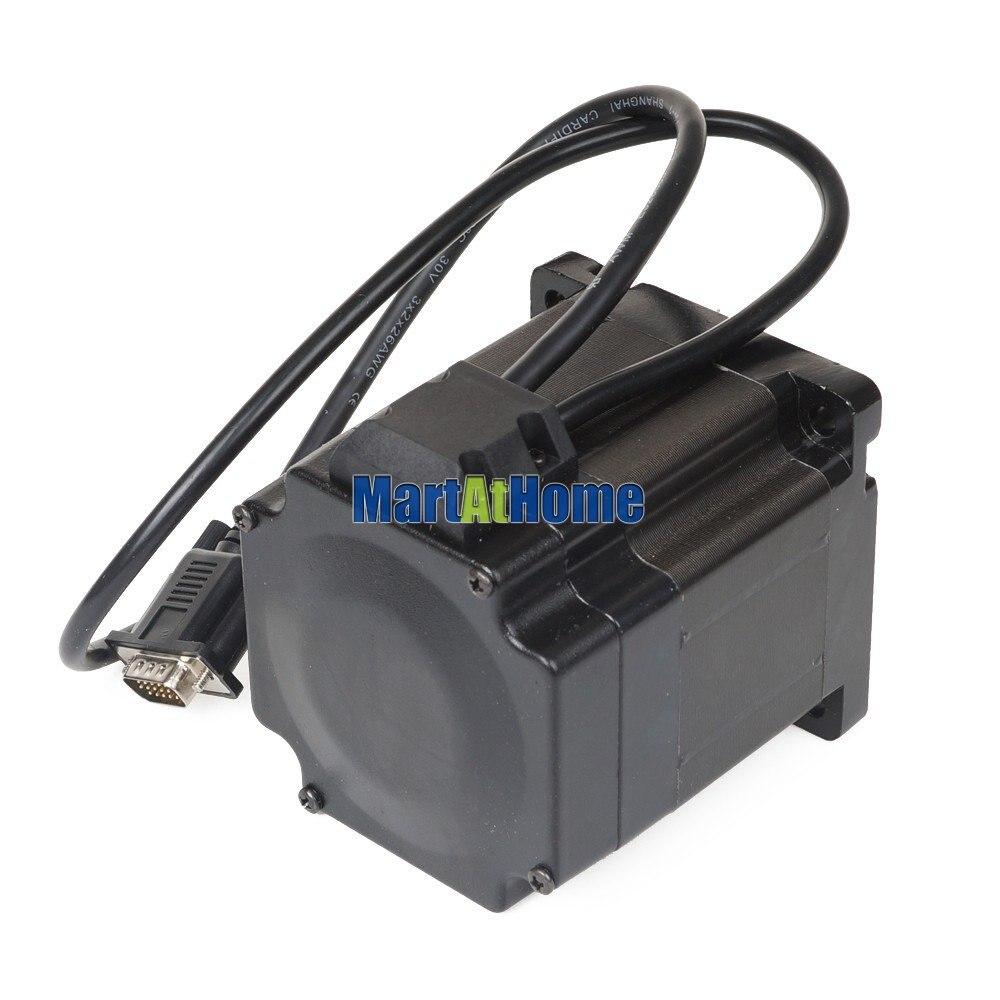 Leadshine 300W híbrido CNC Servo juego de motores HBS86H Drive + 86HS40 EC Motor 566 oz En (4,0 Nm) # SM585 @ SD - 6