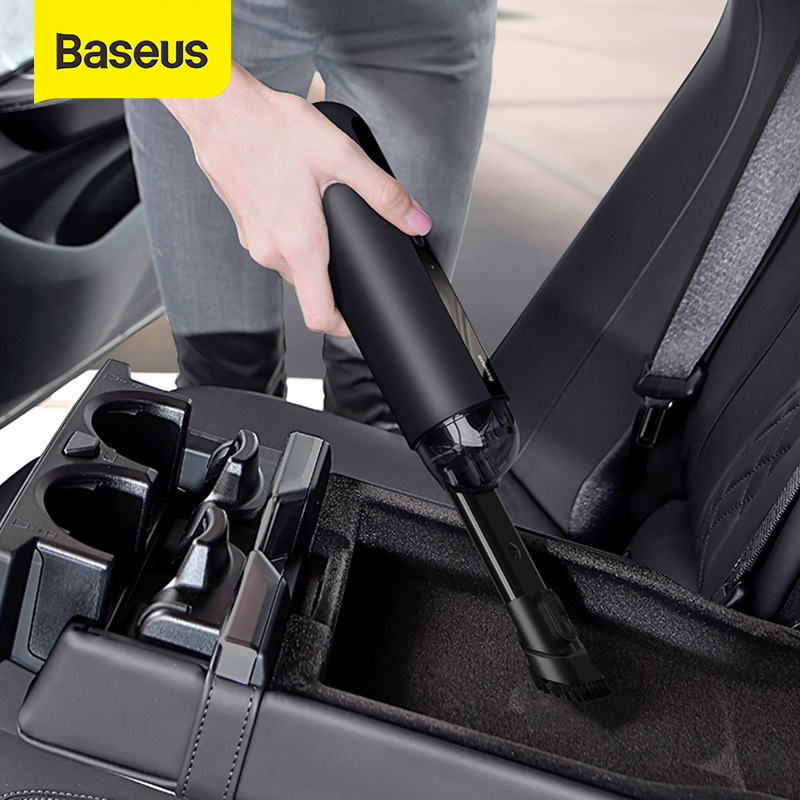 Baseus A2 Car Vacuum Cleaner Mini Handheld Auto Vacuum Cleaner with 5000Pa Powerful Suction For Home & Car & Office 1